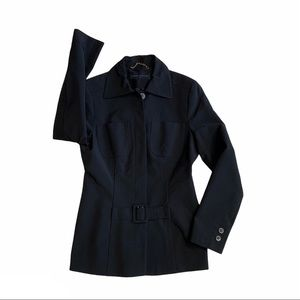 KAREN MILLEN navy jacket - blazer or overcoat